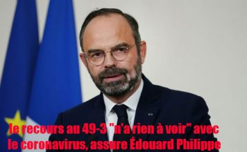 le-49-3-n-a-rien-à-voir-avec-le-coronavirus-assure-Edouard-Philippe