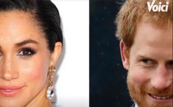 Le-couple-harry-et-Meghan-merkle
