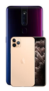 avis-et-test-oppo-f11-pro-vs-iphone-11