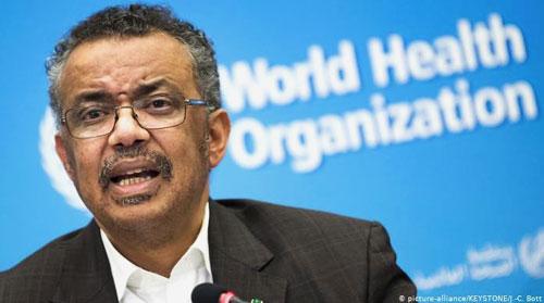 directeur-general-de-l-OMS-Tedros Adhanom-Ghebreyesus